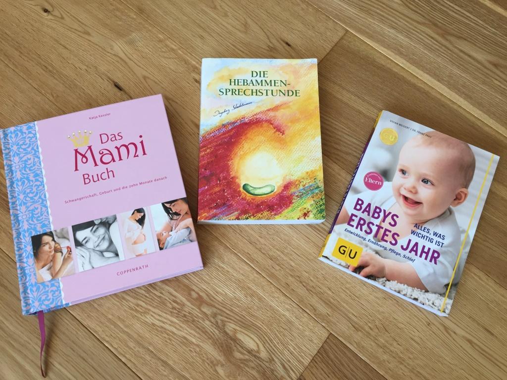 Bücher für Schwangerschaft und Babyzeit
